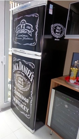Onde comprar adesivos de geladeira Jack Daniels