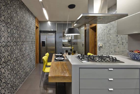 Melhores cores para cozinha cinza - dicas de decoração