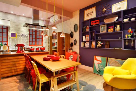 Ideias de enfeites de cozinha - artesanato, tecido e para parede