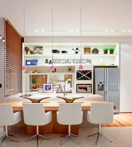 Fotos de enfeites lindos e coloridos para cozinha moderna