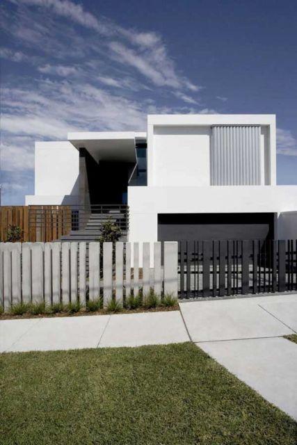 muro de concreto moderno