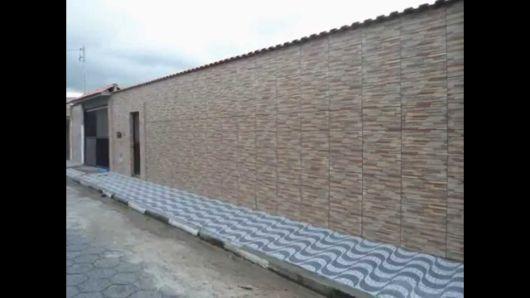 muro com cerâmica