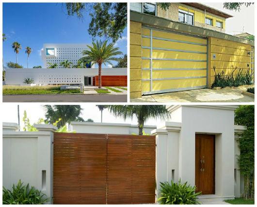 modelos de muros com elementos vazados para casas