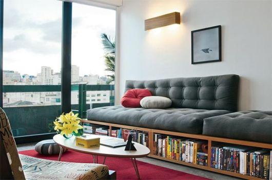 Sala Pequena Com Sofa De Alvenaria ~ sofá para sala pequena