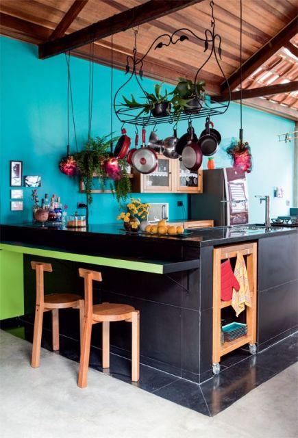 Parede azul 30 dicas tons e fotos imperd veis for Decoraciones de ambientes de casas