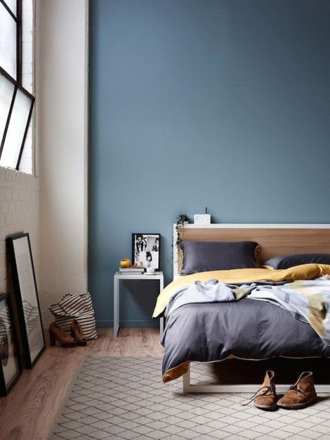 Parede azul 30 dicas tons e fotos imperd veis - Best paint colors for small spaces gallery ...
