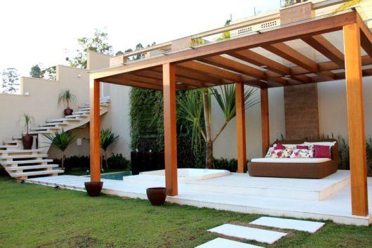 espaço relaxante quintal