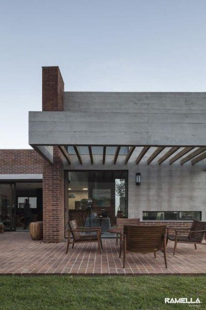 Pergolado p rgola 70 modelos e fotos incr veis for Casas modernas hormigon visto