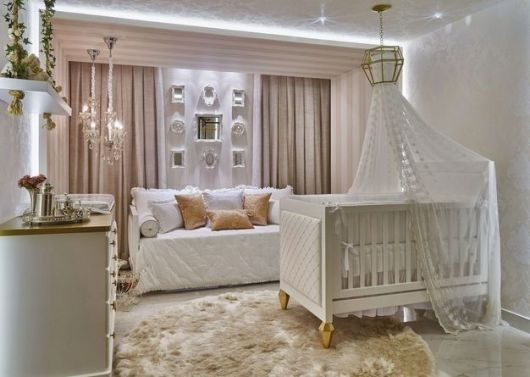 quarto bebê sofisticado