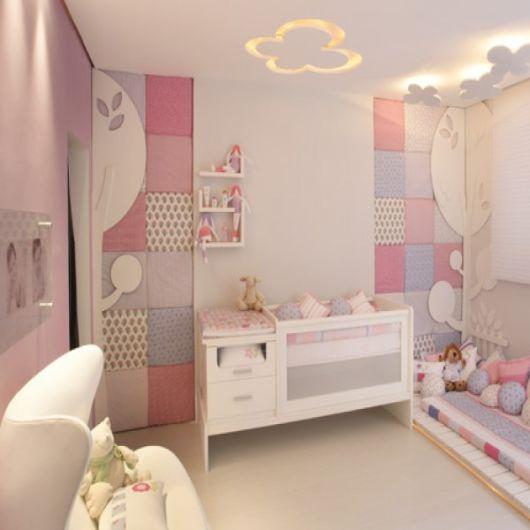 quarto bebê menina decorado