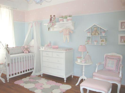 quarto bebê rosa e azul