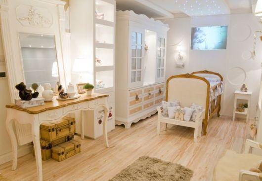 piso de madeira quarto de bebê
