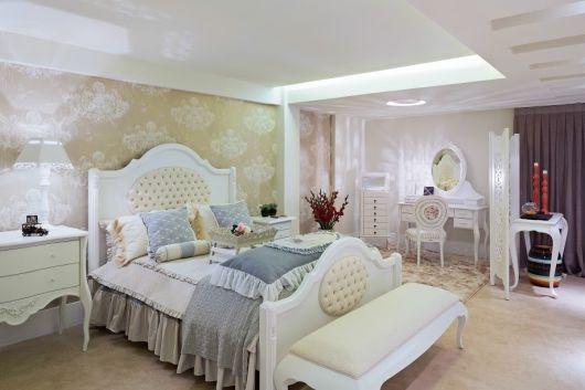 decoração romântica quarto