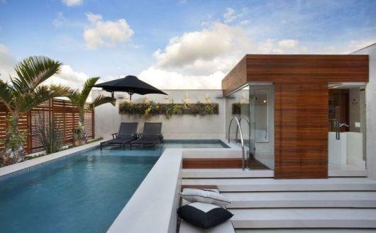 piscina sofisticada
