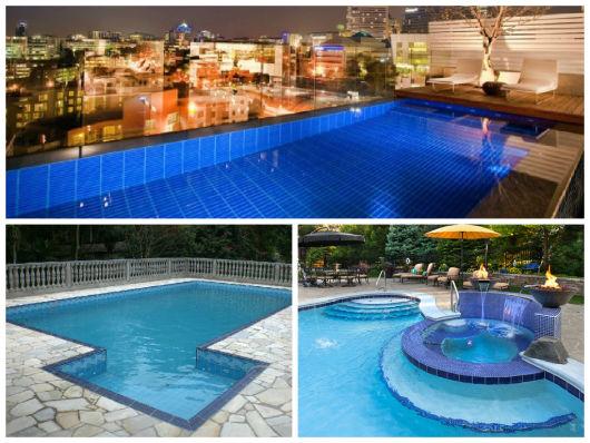 Revestimento para piscina tipos dicas e fotos for Material para piscina