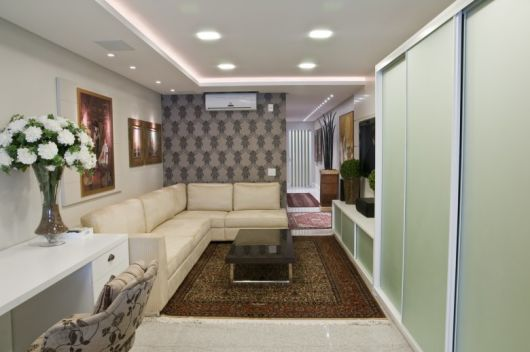 Sala de estar tradicional