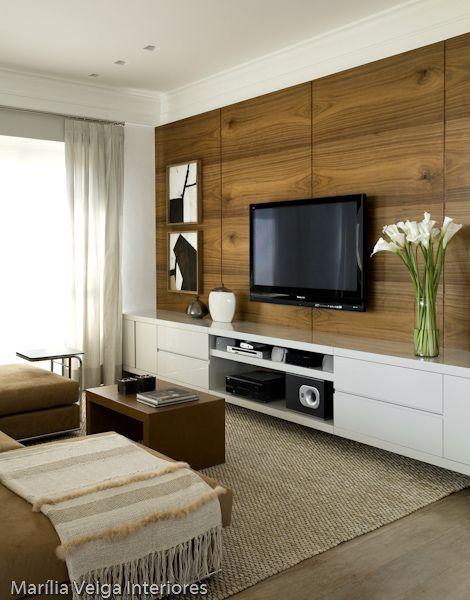 Sala De Tv Pequena E Estreita ~ 70 TAPETES PARA SALA – de Estar e TV Imperdíveis!