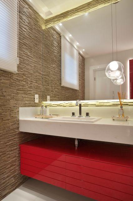 decoracao de banheiros na cor vermelha – Doitric -> Decoracao De Banheiro Na Cor Bege