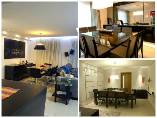 Buffet De Sala De Jantar Com Vidro ~ ideias de decoração sala de jantar