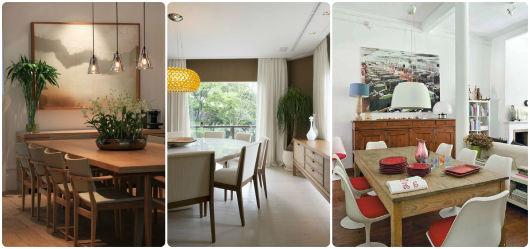 ideias para decorar sala de jantar