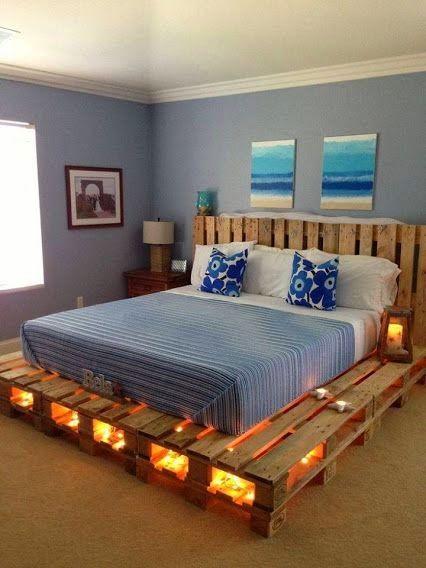 cama de pallet