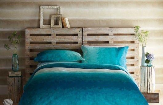 decoração turquesa quarto
