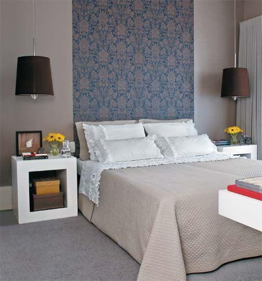 Cabeceira para cama 60 modelos fotos tutoriais - Modelos de cojines para cama ...