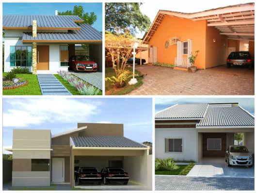 projetos casa com garagem