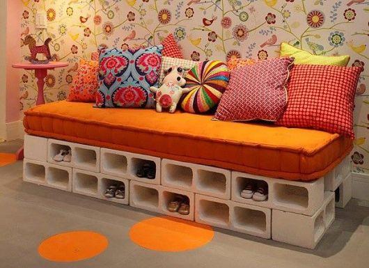 cama com futon