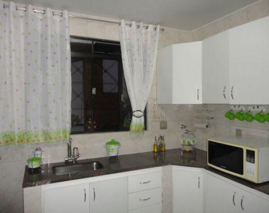 cortina simples para cozinha