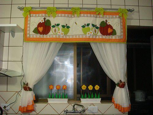 50 cortinas para cozinha fotos e como fazer - Comprar cortinas para cocina ...