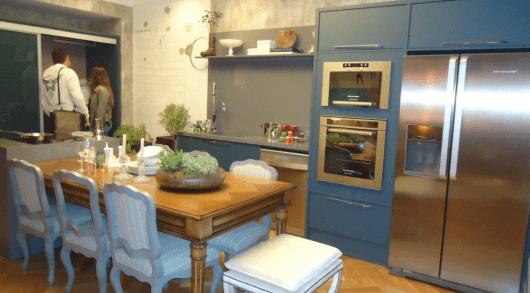 mesa na cozinha