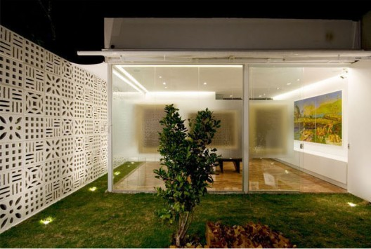 muro moderno para casa