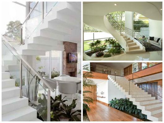 escada jardim embaixo:JARDIM EMBAIXO DA ESCADA: Como Fazer, Fotos e Dicas