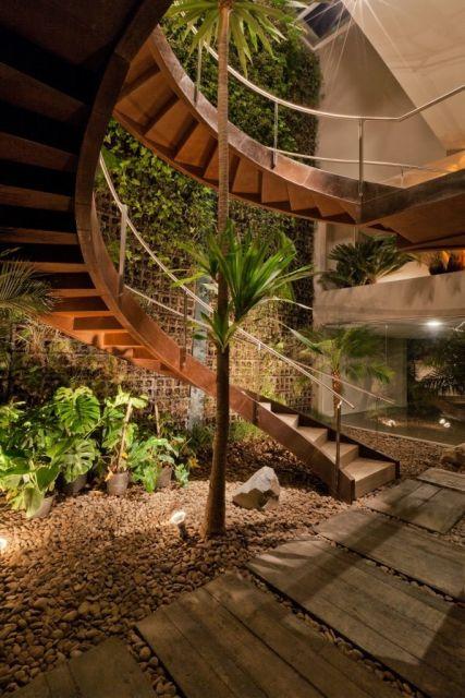 escada para o jardim:JARDIM EMBAIXO DA ESCADA: Como Fazer, Fotos e Dicas