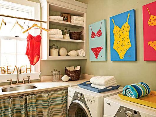 Lavanderia pequena como organizar e decorar for Lavadero decoracion