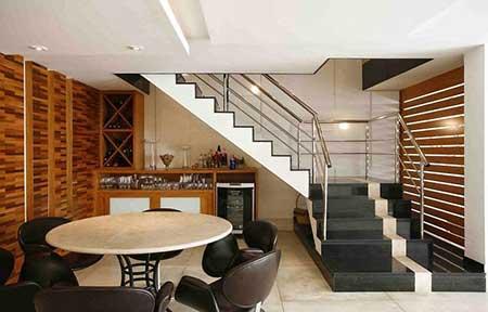 escada preta