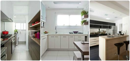 piso cozinha pequena