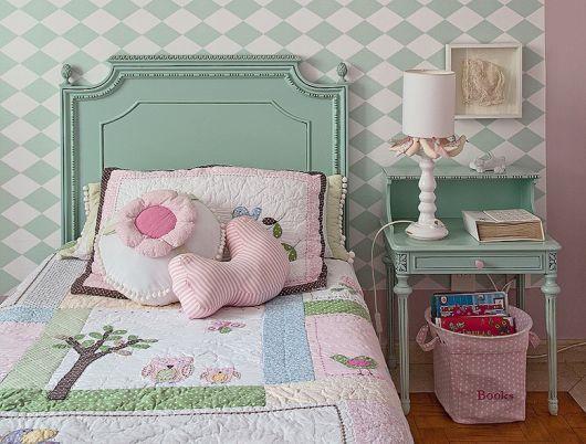 roupa de cama de patchwork