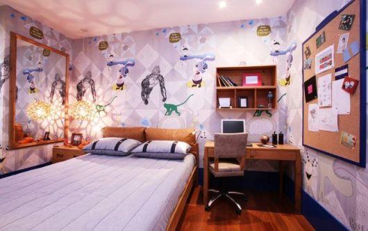 decoração quarto de homem