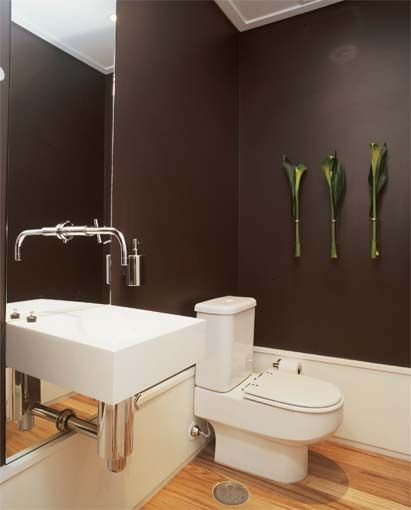cor parede lavabo