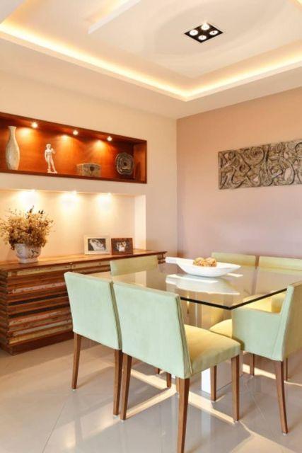 Sala De Jantar Koerich ~ dicas de acabamentos sugestões de cores bege e tons suaves
