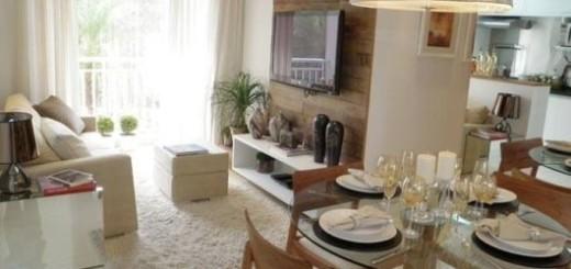 decoração de ambientes integrados