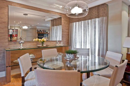 Imagem Sala De Jantar Pequena ~ SALA DE JANTAR PEQUENA Aproveitamento e Decoração