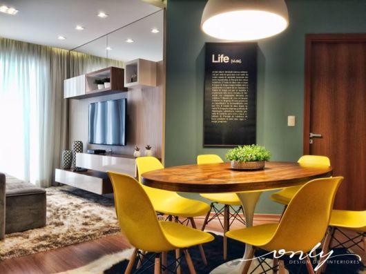 Mesa Para Sala Jantar Pequena ~ SALA DE JANTAR PEQUENA Aproveitamento e Decoração
