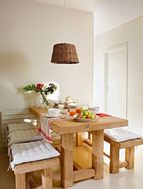 móveis de madeira rústica