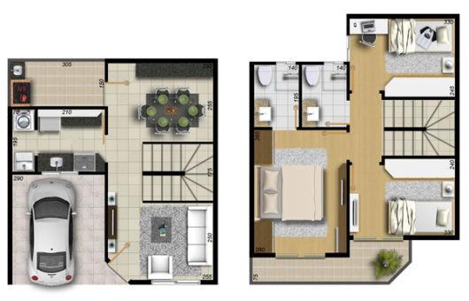 Arquitetura Online Monte Sua Casa Plantas ProjetosMonte