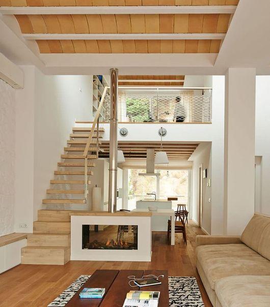 decoracao de ambientes pequenos e integrados : decoracao de ambientes pequenos e integrados:60 SOBRADOS PEQUENOS: Projetos Incríveis, Dicas, Fotos