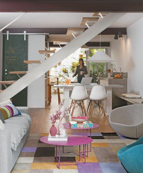 decoração sala com cozinha