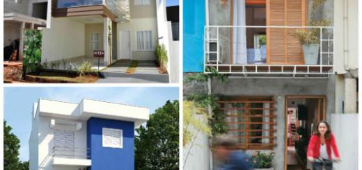 casas para terreno pequeno